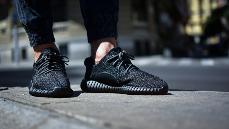 Adidas Yeezy Boost 350 Pirate Black • Kicks On Fire